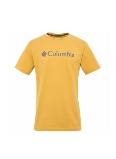 Columbia Tişört Sarı
